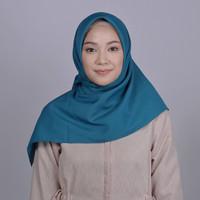 Zoya Kalandra Plain Scarf - Kerudung Hijab Segi Empat - Navy