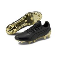SEPATU BOLA - PUMA KING PLATINUM FG/AG BLACK GOLD ORIGINAL 10560605