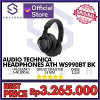 HEADSET MIC AUDIO TECHNICA ATH-WS990BT ORIGINAL GARANSI RESMI