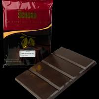 dark chocolate couverture 60% 1kg blok / easy melt chocolate blok