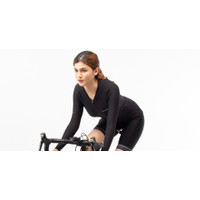 Jersey sepeda wanita jersey cortiger jersey pxd black long no santic