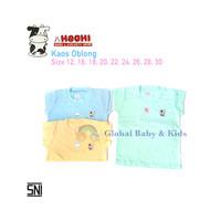 Kaos oblong Hachi/kaos anak bayi/baju kaos adem merk Hachi baby