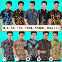 Kemeja Batik - Baju Batik Pria - Hem Batik Lengan Pendek