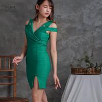 Mini Dress Sexy   Dres Bodycon   Baju Pakaian Cewek Seksi Wanita 0053
