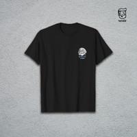 Kaos Astro-Cat Venir - Basic T-shirt Pria/Wanita Murah Kaus Atasan - Hitam, S