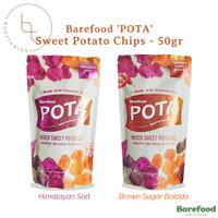 Barefood POTA Keripik Ubi Sweet Potato Chips - 50gr Snack Sehat Diet