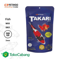 CPPETINDO Takari Fish Food 2mm Mix - 500 gr