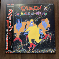 Rare! Vinyl Queen - Kind Of Magic , Japan Press , Piringan Hitam Lp