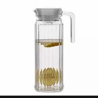 teko kaca, water jug, teko air, botol minum, tempat minum 1 liter