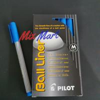 Pen Pilot Ball Liner M 0.8 mm Blue