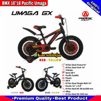 SEPEDA BMX ANAK 16 18 INCH PACIFIC UMAGA GX 3.0 BAN JUMBO