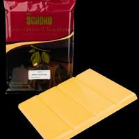 Mango Chocolate Chouverture 1kg blok / easy melt chocolate blok