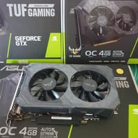 Asus TUF Gaming Geforce GTX 1650 4Gb DDR6 OC Edition Dual Fan Resmi
