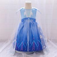 dress elsa frozen 2 dress anak elsa baju elsa frozen gaun elsa