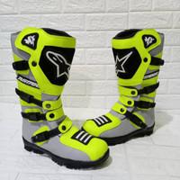 Sepatu Alpinestar Hijau Stabilo biasa - 38