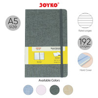 Notebook Buku Tulis Catatan Diary Agenda Joyko Cloth Kain Hard Cover