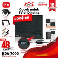Antena Antenna TV PX Smart Digital Analog LED BAR HDA-7000 HDA7000