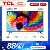 TCL 32B3 - HD Digital TV - HDMI/USB-Headphone TV LED TV 32 inch