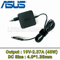 Adaptor Charger Laptop Asus X407M X407MA X540N X540NA 19V-2.37A 45W