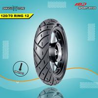 BAN MOTOR MATIC RING 12 FDR SPORT ZEVO MATIC 120/70 RING 12 TUBLES