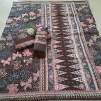 sarimbit keluarga batik couple bahan dobby trusmi cirebon