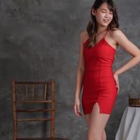 Setelan Rok Wanita   Mini Dress Sexy   Dres Bodycon   Baju Seksi 0052