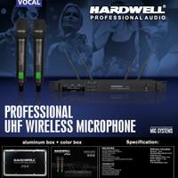 Mic Wireless Hardwell JTS-8 New Original -- 2buah Mic Pegang