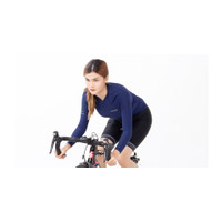 Jersey sepeda wanita jersey cortiger jersey pxd navy long no santic