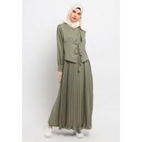 Gamis Muslim Wanita Le Najwa Humara Dress