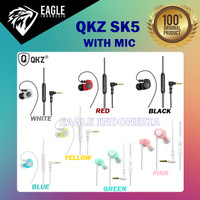 QKZ SK5 Earphone Sport Earbuds Stereo Running Headset With HD MIC