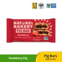 Fig Bar Strawberry 57g / Camilan panggang buah Strawberry / Pie Vegan