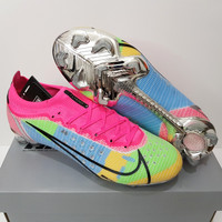 Sepatu Bola - Soccer Nike Mercurial 14 Elite Pink Multicolor CHROME FG