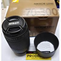 Lensa NIKON AF 70-300mm f/4-5.6 G - No VR, No Motor (BNIB - Grs RESMI)