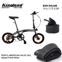 Ban Dalam Sepeda KINGLAND 16 x 1.75 - 2.00 AV Ban dalam 16 x 175 - 200