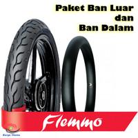 Paket Ban Luar Dalam FDR Flemmo Tubetype 90/90-18