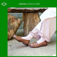 Lvnatica Footwear Sepatu Wanita Pantofel Docmart Victoria Brown