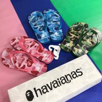 Bape x Havaianas Sandal 100% Original