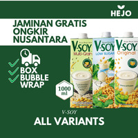 V-Soy - Soya Bean Milk Multi Grain / Susu Kedelai UHT