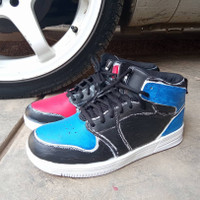 Ardiles Crimson (Custom), Sepatu Basket lokal, Sepatu Basket Original