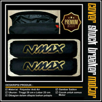 Cover Shock Nmax / Sarung Shockbreaker Nmax / Cover Shockbreaker Nmax - Gold