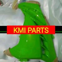 fairing ninja 250fi lama kiri hijau ori
