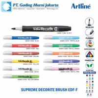 Artline Decorite Brush Pen EDF-F