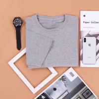 Kaos Polos Grosir Asli Cotton Combed 30s Premium Bandung Size S, M, L