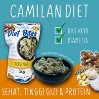 Snack Cemilan Diet Sehat Kerupuk Kulit Ikan Pakulitan 35 Gram
