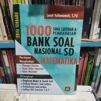 Buku 1000 soal latihan& pembahasan bank soal SD matematika termurah