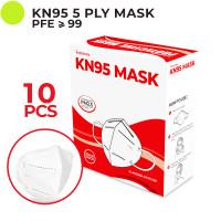 Indoshare Masker Kesehatan KN95 5ply 1box isi 10pcs