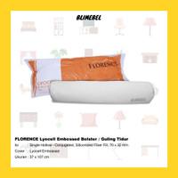FLORENCE Lyocell Embossed Bolster / Guling Tidur