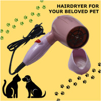 Hair Dryer Pengering Peliharaan Pet Bulu Anjing Kucing Mermaid Praktis