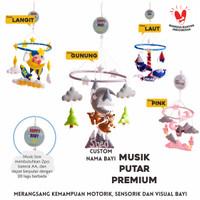 Mainan baby / bayi gantung new born + Music Box