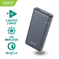 Robot RT21 20000mAh Powerbank 18W Two-Way Fast Quick Charge PD QC3.0
